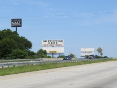 Sign #50,Northbound sign,on West side of I-75, Spectacular sign