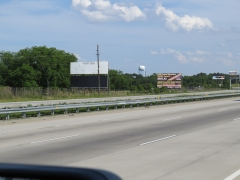 Sign #49,Left hand reading southbound between exit 121 & 122  on I-75
